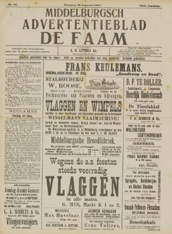 de Faam en de Faam/de Vlissinger 1907-08-21