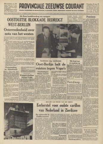 Provinciale Zeeuwse Courant 1961-08-16