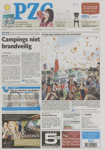 Provinciale Zeeuwse Courant 2010-05-22