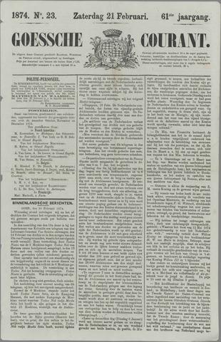 Goessche Courant 1874-02-21