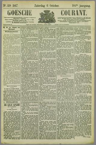 Goessche Courant 1917-10-06