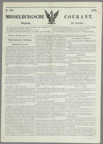 Middelburgsche Courant 1855-10-23