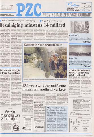 Provinciale Zeeuwse Courant 1990-12-22
