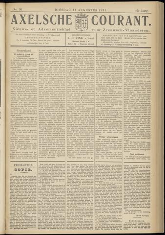 Axelsche Courant 1931-08-11