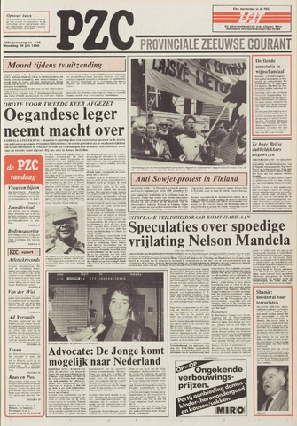Provinciale Zeeuwse Courant 1985-07-29