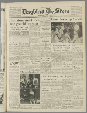 de Stem 1958-02-08
