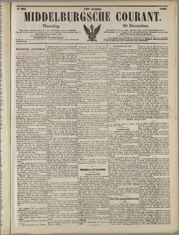 Middelburgsche Courant 1903-12-28