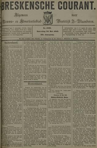 Breskensche Courant 1913-05-24