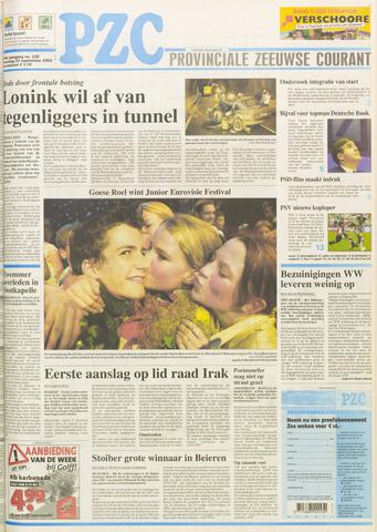 Provinciale Zeeuwse Courant 2003-09-22
