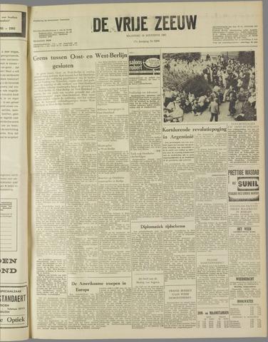 de Vrije Zeeuw 1961-08-14