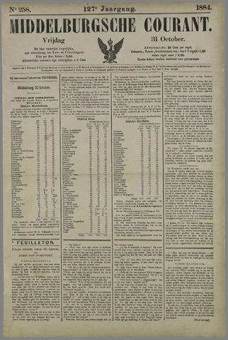 Middelburgsche Courant 1884-10-31