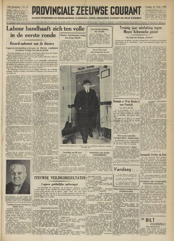 Provinciale Zeeuwse Courant 1950-02-24