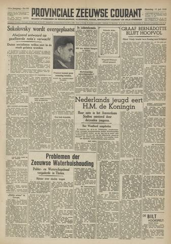 Provinciale Zeeuwse Courant 1948-07-12