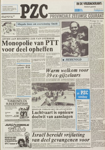 Provinciale Zeeuwse Courant 1985-07-02