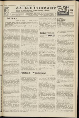 Axelsche Courant 1956-08-11