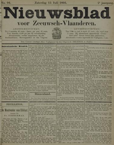 Nieuwsblad voor Zeeuwsch-Vlaanderen 1893-07-15