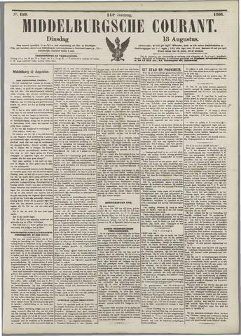 Middelburgsche Courant 1901-08-13