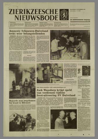 Zierikzeesche Nieuwsbode 1985-11-04