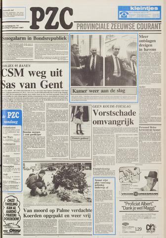 Provinciale Zeeuwse Courant 1987-01-21