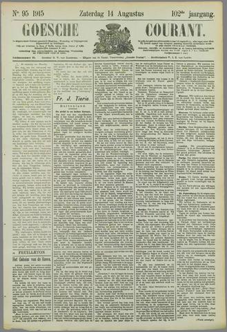 Goessche Courant 1915-08-14