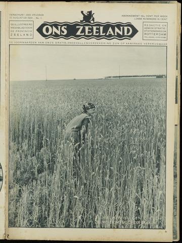 Ons Zeeland / Zeeuwsche editie 1934-08-10