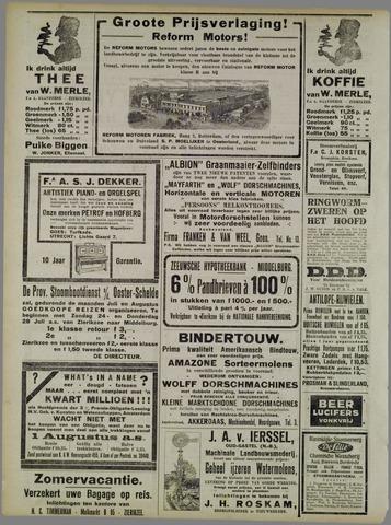 Zierikzeesche Nieuwsbode 1921-07-25