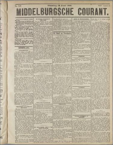 Middelburgsche Courant 1921-06-14