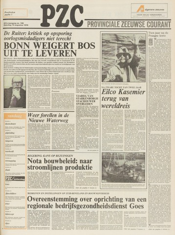 Provinciale Zeeuwse Courant 1978-08-19