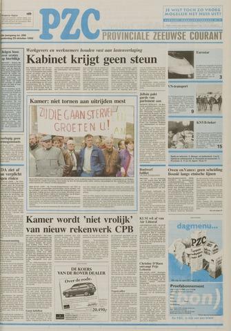 Provinciale Zeeuwse Courant 1992-10-29