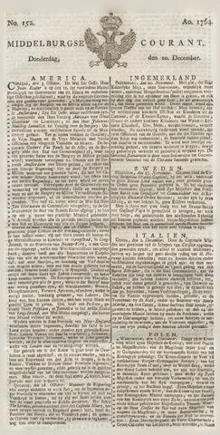 Middelburgsche Courant 1764-12-20
