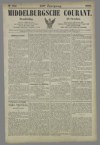 Middelburgsche Courant 1883-10-25