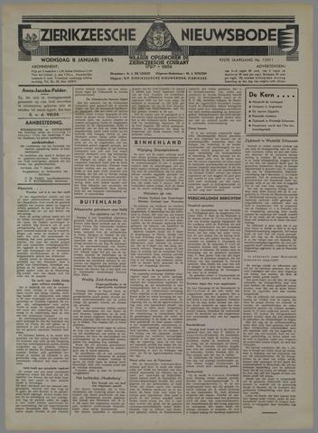 Zierikzeesche Nieuwsbode 1936-01-08