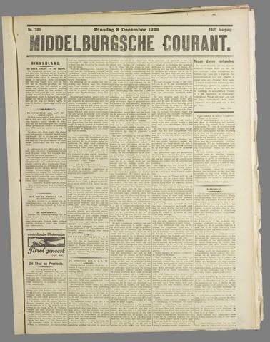 Middelburgsche Courant 1925-12-08