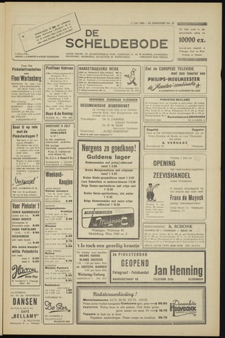 Scheldebode 1954-06-04