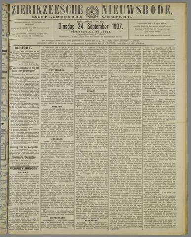 Zierikzeesche Nieuwsbode 1907-09-24
