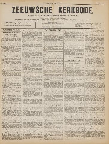 Zeeuwsche kerkbode, weekblad gewijd aan de belangen der gereformeerde kerken/ Zeeuwsch kerkblad 1936-12-04