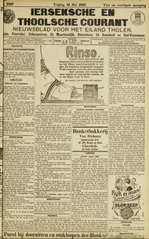 Ierseksche en Thoolsche Courant 1927-05-13