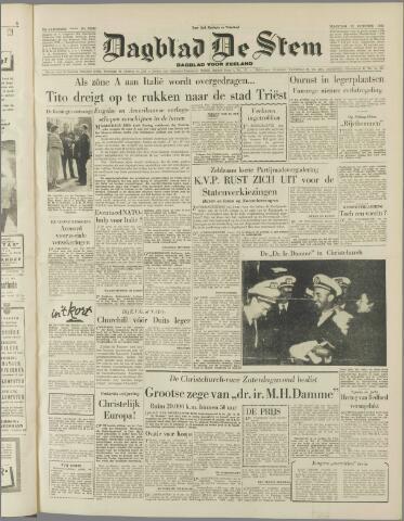 de Stem 1953-10-12