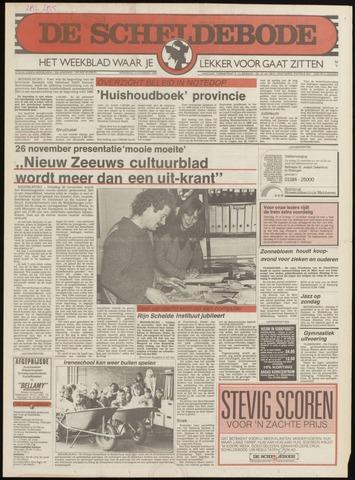 Scheldebode 1985-11-07