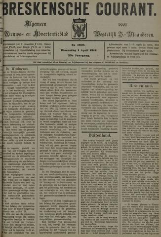 Breskensche Courant 1914-04-01