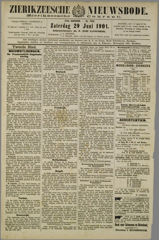 Zierikzeesche Nieuwsbode 1901-06-29