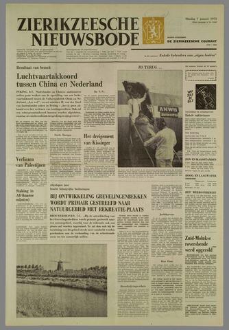 Zierikzeesche Nieuwsbode 1975-01-07