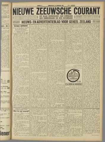 Nieuwe Zeeuwsche Courant 1931-02-19