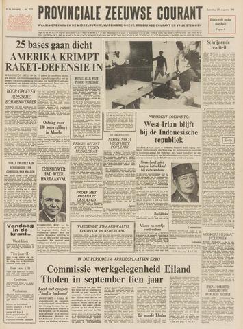 Provinciale Zeeuwse Courant 1968-08-17