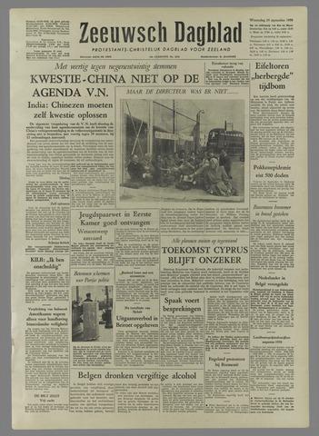 Zeeuwsch Dagblad 1958-09-24