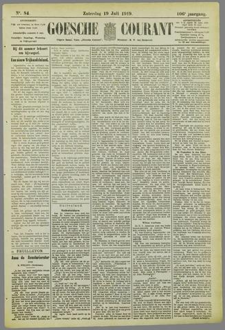 Goessche Courant 1919-07-19