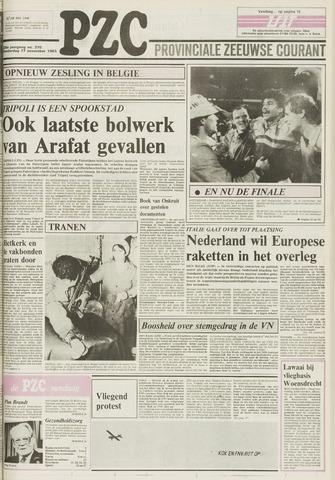 Provinciale Zeeuwse Courant 1983-11-17