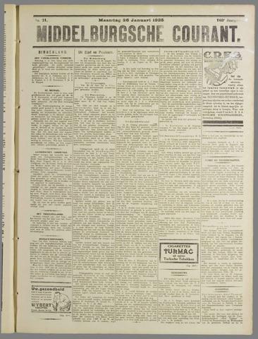 Middelburgsche Courant 1925-01-26