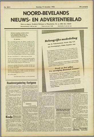 Noord-Bevelands Nieuws- en advertentieblad 1956-12-15