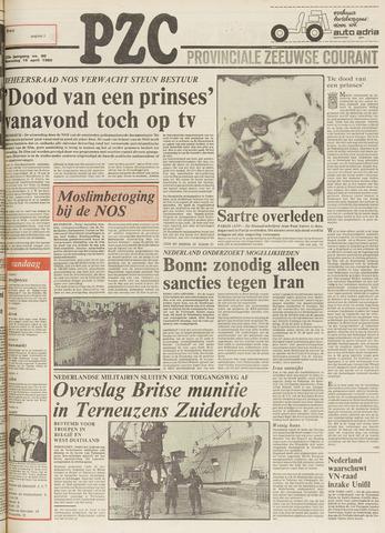 Provinciale Zeeuwse Courant 1980-04-16